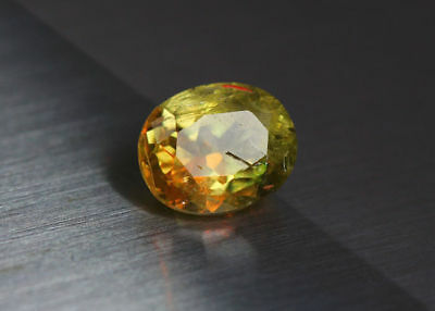 3.08 Cts_Amazing Gem Miracle Collection_100%natural Color Change Diaspore_Turkey