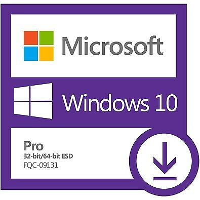 Microsoft Windows 10 Professional 32/64 bit Activation Key