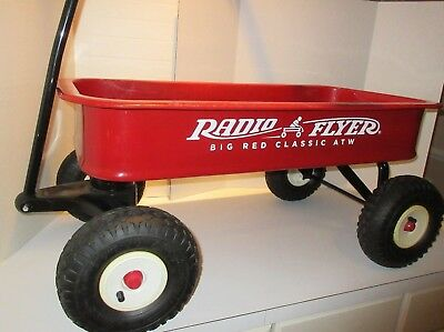 Steel RADIO FLYER Big RED Classic ATW All Terrain Wagon #1800 Air Tires  PICK UP