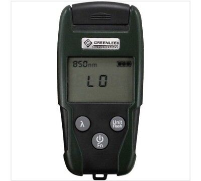 Greenlee GOPM01 Optical Power Meter With VFL