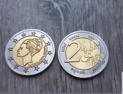 2 euro Monaco Grace Kelly 2007. PROBE ESSAI TRIAL!
