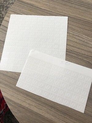 150 McDonalds Coffee Vouchers stickers only (25 Cups Plus Another 4 From Them)