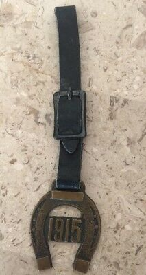 1915 Panama Pacific Exposition Horseshoe Watch Fob