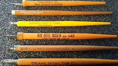 Vintage Advertising Calligraphy Pens And Nibs