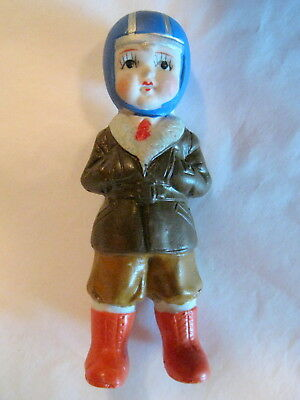 Vintage Bisque Halloween Child Trick-or-Treater!