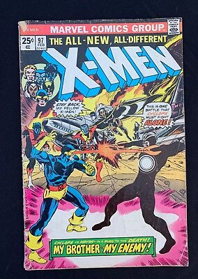 X-Men (1963) #97 - 1st Eric the Red - Copy B