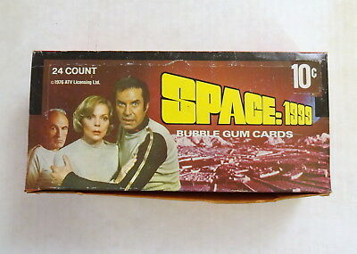 1976 Donruss, Space 1999 Trading Card Box