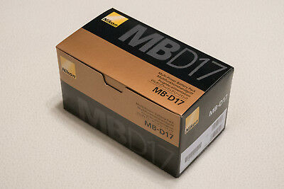 Genuine Nikon MB-D17 Multi Power Battery Pack for D500, Brand New in Box USA