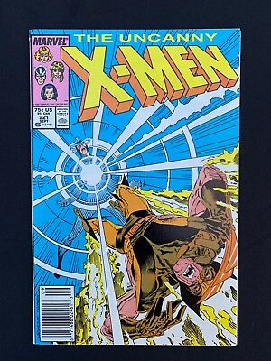 X-Men (1963) #221 - 1st Mr. Sinister