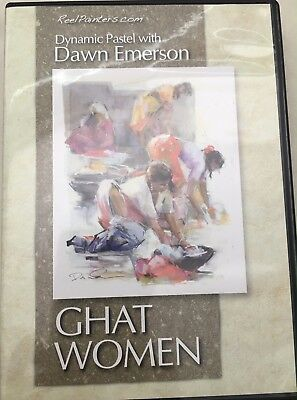 Ghat Women Dynamic Pastel with Dawn Emerson Art Instruction DVD