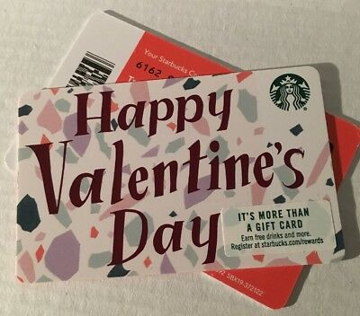 NEW #6162 STARBUCKS RECYCLABLE 2018 HAPPY VALENTINE'S DAY Recyclable