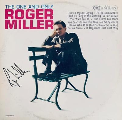 Roger Miller Hand Signed Autograph Lp Album - Great Gift