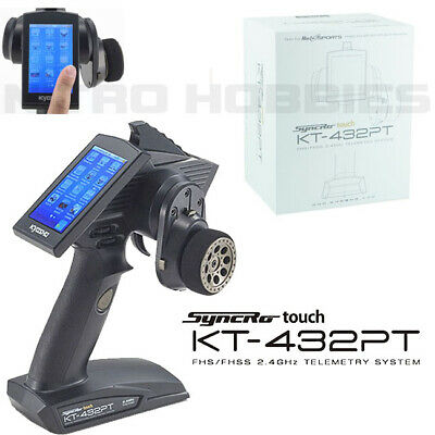 Kyosho Syncro Touch KT-432PT Transmitter FHS / FHSS 4 Ch 2.4GHz Telemetry