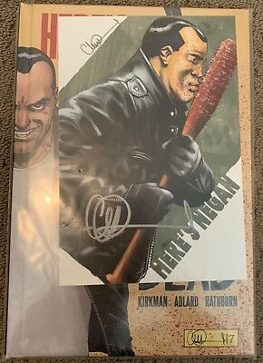 Walking Dead Here's Negan Bookplate Edition Limited to 200 Gosh