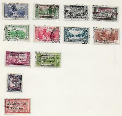 12 Lebanon Stamps from Quality Old Album