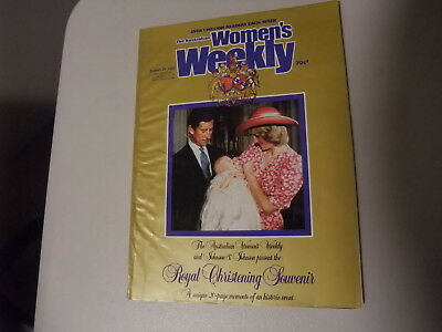 Woman's Weekly Royal Christening Souvenir August 1982