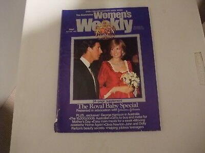 Woman's Weekly Apr 1982 Royal Baby Special 24 Page Supplement
