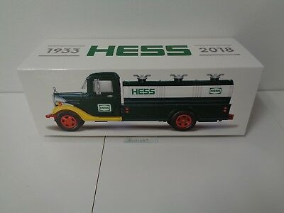 2018 HESS TOY TRUCK 85th ANNIVERSARY COLLECTOR'S LIMITED EDITION SOLD OUT