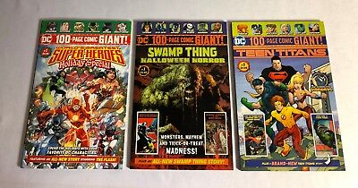 Super Holiday Teen Titans Swamp Thing #1 Exclusive 100 Page Giant Comic DC