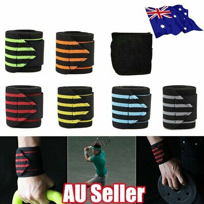 Wrist Wraps Straps Weightlifting Gym Training Wrist Support Straps Elastic ON
