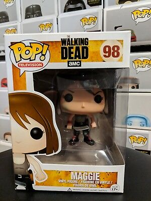 Funko Pop Television - The Walking Dead TWD  Maggie #98 - Vaulted 2014