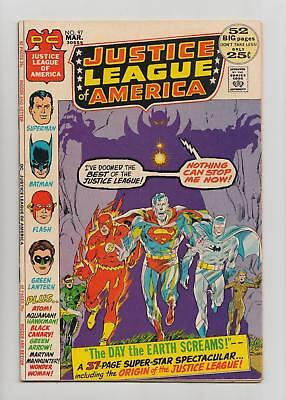Justice League of America #97 Neal Adams Cover (DC 1972) VF+ 8.5 Sharp Copy