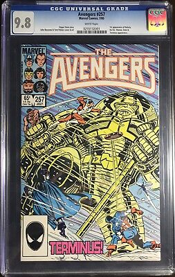 Avengers 257 CGC 9.8 Marvel 1985 1st Appearance of Nebula WHITE pages movie GOTG