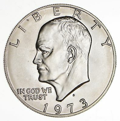 SPECIALLY MINTED - S Mint Mark - 1973-S 40% Eisenhower Silver Dollar - RARE *363