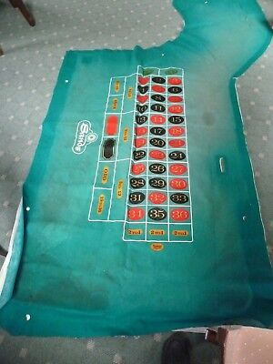 "Layout - Used Authentic ""sands Casino"" Roulette Las Vegas Strip, Nevada"