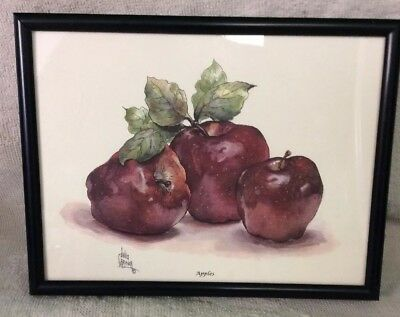 Home Interiors Print Frame, Julia Crainer , APPLES!