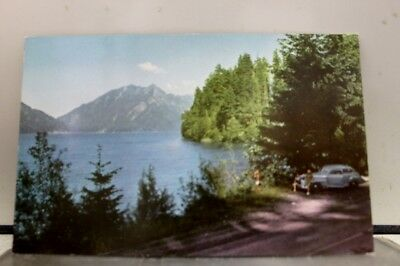 Washington WA Lake Crescent Olympic Park Postcard Old Vintage Card View Standard
