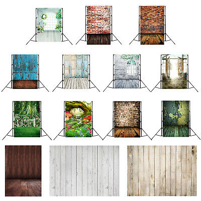 Retro Photo Backdrops Vinyl Wooden Floor Photography Background Studio DIY Decor