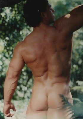Vintage Colt Beautiful Beefy Butt Smooth Nude Scott Kerr 5x7 Photo Gay 16261