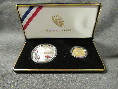 2012 US Mint Star-Spangled Banner Commemorative two coin set