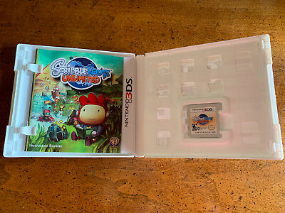 Scribblenauts Unlimited - Nintendo 3DS Game with Manual & Case
