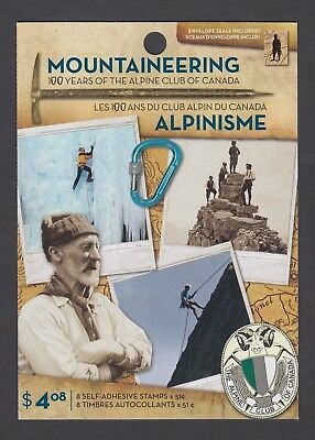 CANADA BOOKLET BK332 8 x 51c MOUNTAINEERING