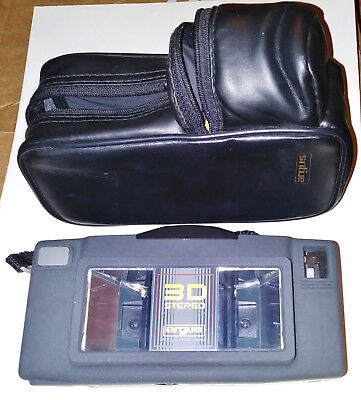 Vintage Argus 3D Stereo Camera With Soft Case, Excellent Condition, Untested