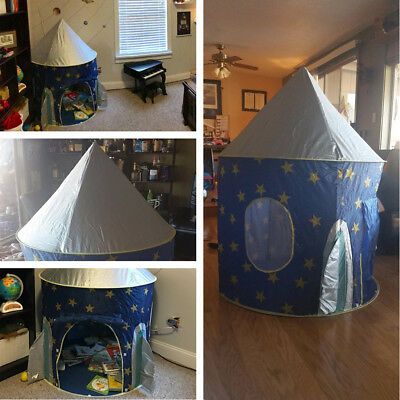 Princess Castle Play House Large Indoor Outdoor Kids Play Tent for Girls Boys