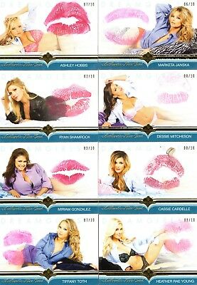 2018 Dreamgirls Update ASHLEY HOBBS 07/10 Authentic KISS CARD Benchwarmer Gold