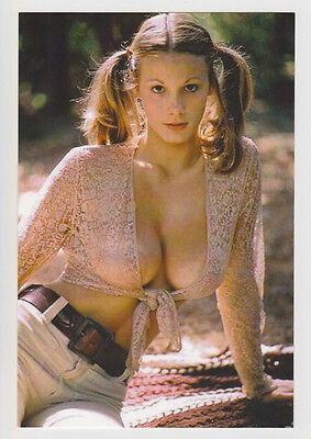 Postcard Pinup Risque Nude Stunning Girl Extremely Rare Photo Post Card 5325