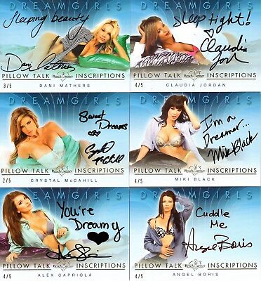 2018 Dreamgirls Update Auto CRYSTAL MCCAHILL Inscriptions AUTOGRAPH Benchwarmer