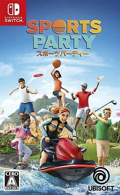 NEW Nintendo Switch Sports Party JAPAN import Japanese game