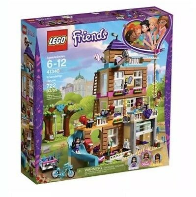 LEGO Friends 6213461 Friendship House 41340 Building Kit (722 Piece) New