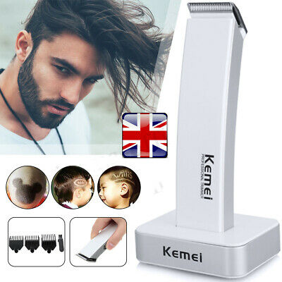 Men Cordless Electric Rechargeable Hair Clipper Trimmer Beard Body Shaver Razor