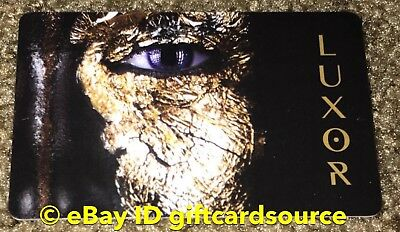 "Luxor Hotel Room Key Card ""Golden Face"" New 2018 Collectible"
