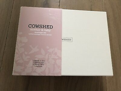 Cowshed Mother & Baby Massage Set - shower gel candle stretch mark oil