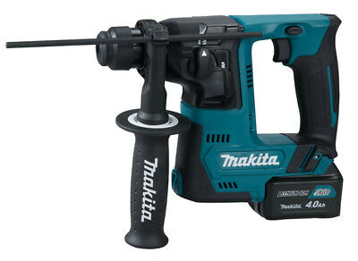 Makita HR140DSAE1 Batteria Trapano Sds-Plus 10,8 V 4,0 Ah 14 mm con Batteria