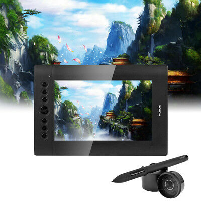 """Pro 10x6.25"""" Graphic Tablet Board Drawing Monitor Pen Tablet 2048 Level 5080 LPI"""