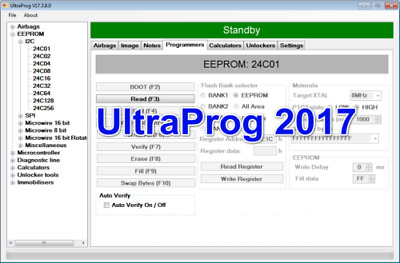 Ultraprog 17.3.8.0 ECU IMMO AIRBAG clear crash REPAIR DELETE SOFTWARE 2017