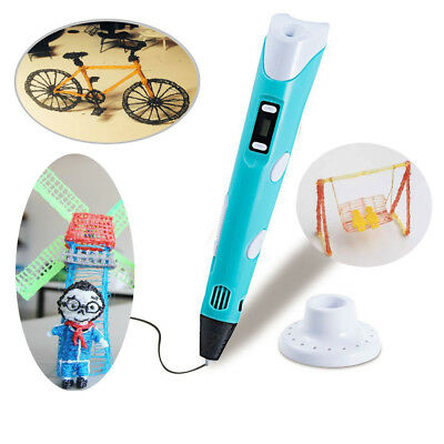 3D Stereoscopic Doodler Printing Drawing Pen LCD Art Tool AU Local 2019